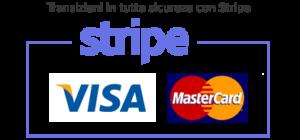 Questo sito utilizza Stripe come metodo di pagamento per transizioni in tutta sicurezza.